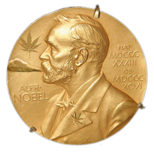Alfred Nobel's Hemp-Puffin' Stuff Medal