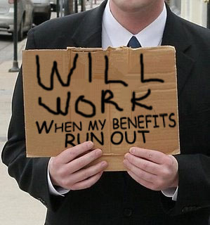 When you subsidize anything, you get more of that thing. Including unemployment.